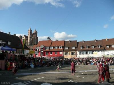 Historische Gauklertage in Breisach am Fasentsundig und -Zischdig. Got it?