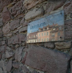 The town of Ettlingen has lots of older buildlings and an old town wall.