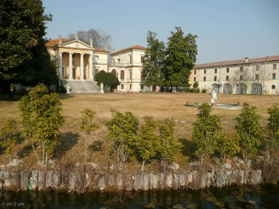 One of two villas that define the town, Vicenza (or something like that).