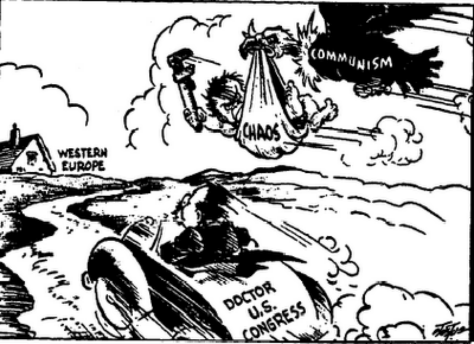 Political Cartoons During Ww2