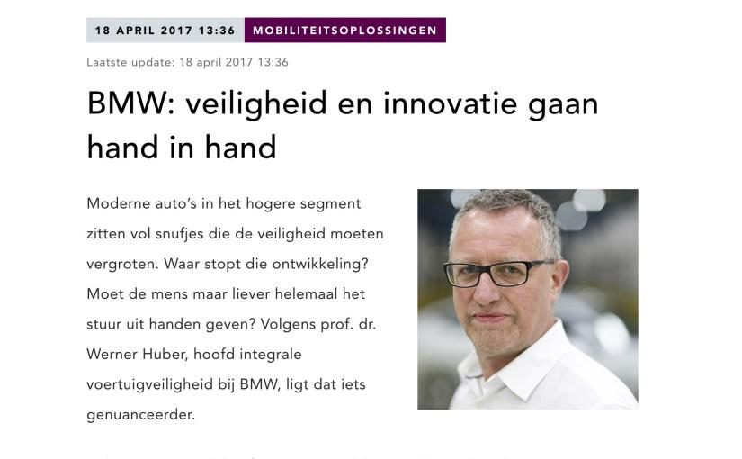 Interview met directeur veiligheid van BMW