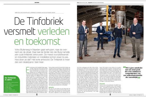 Reportage: Tinfabriek