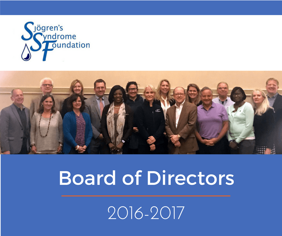 Sjogrens Foundation May Board Meeting