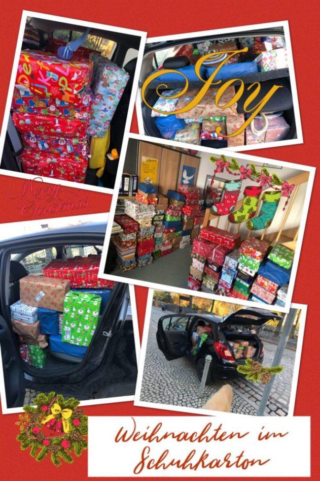 Weihnachten im Schuhkarton – der Weihnachtsmann fährt Opel ...