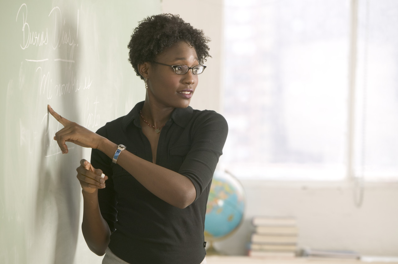 Image result for african american woman teaching college