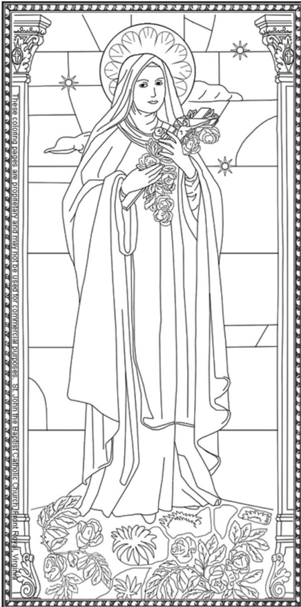 mary coloring pages # 25