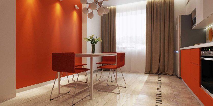 Дизайн интерьера квартиры Машинная