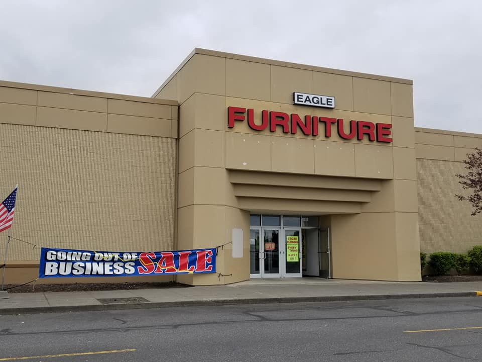Eagle Furniture, Currently Leasing The Former Sears Building Space, Is Also  Going Out Of Business And Are Currently Having A Going Out Of Business Sale.