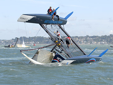 iShares Cup at Skandia Cowes Week by Rick Tomlinson