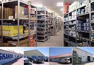 SKANDIX Warenlager in Lutter