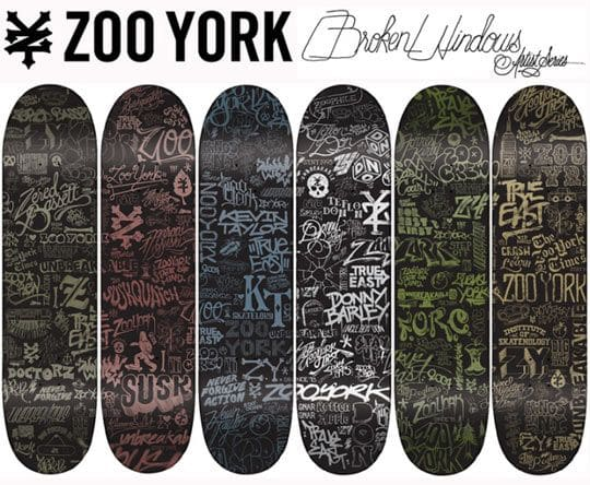 Zoo York Skateboard