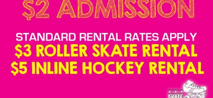 $2 Tuesdays (Regular Rental Rates Apply)