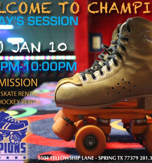 Adult Night Skate Session Thu Jan 10