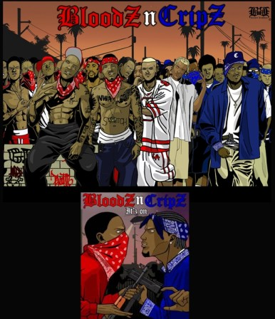 "sobre ""guerra"" de gangs de Los Angeles"