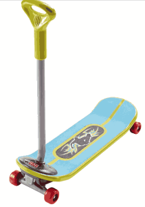Fisher-Price Grow-to-Pro 3-in-1 Skateboard - toddlers skateboard
