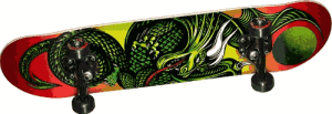 Golden Dragon Flying Dragon 2 Complete Skateboard - best skateboard brands for beginners