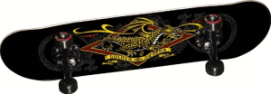 Powell Golden Dragon Diamond Dragon 3 Complete Skateboard - best skateboard brands for beginners