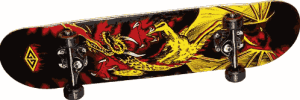 Golden Dragon Flying Dragon 2 Complete Skateboard - best starter skateboards