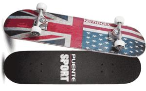 PUENTE 31 Inch Complete Skateboard - cheap skateboard