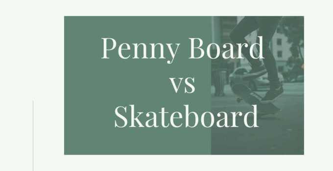 penny vs skateboard