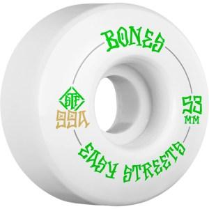 Bones Easy Streets v1 53mm 99A White – 549sek