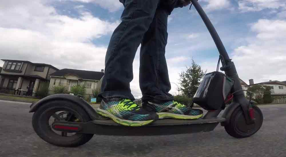 Electric-scooter-capacity