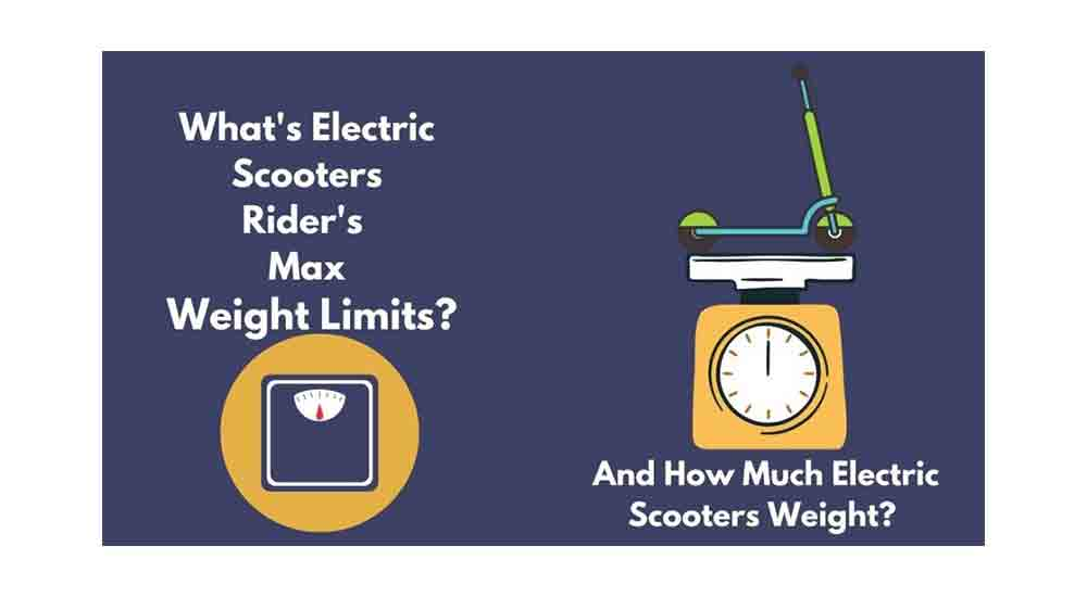 Electric-scooter-weight