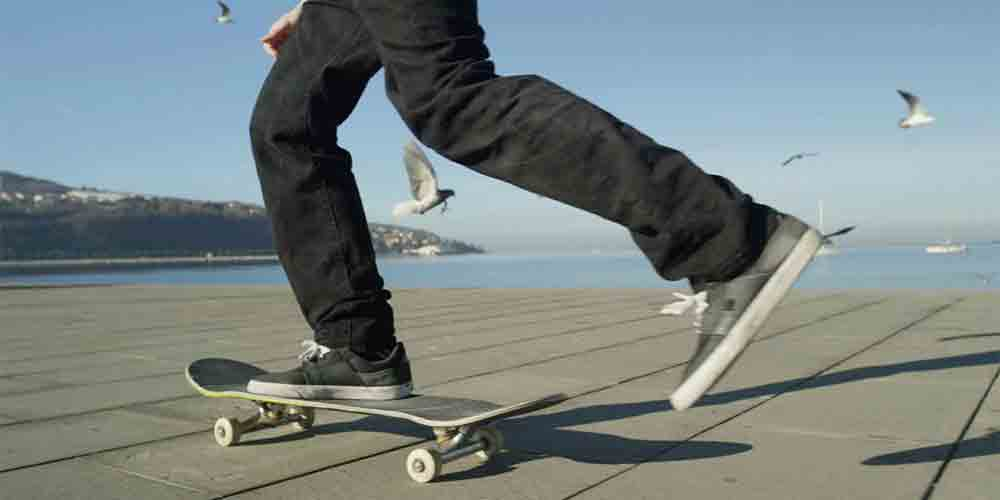 How much power and acceleration needed for skateboard