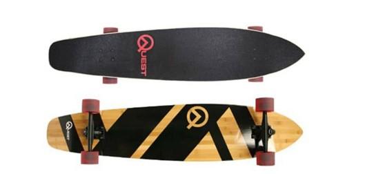 The Quest Super Cruiser Longboard_Best longboards below 40 dollars_cheap longboards under 50.