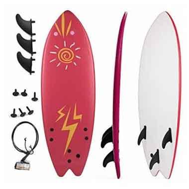 Grande Juguete 5'5″ Soft Top Beginner Surfboard