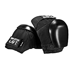187 Killer Pro Knee Pads, Large, Black / Black