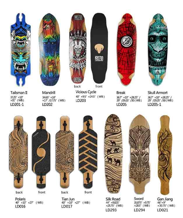 Longboard-vs-skateboard-size