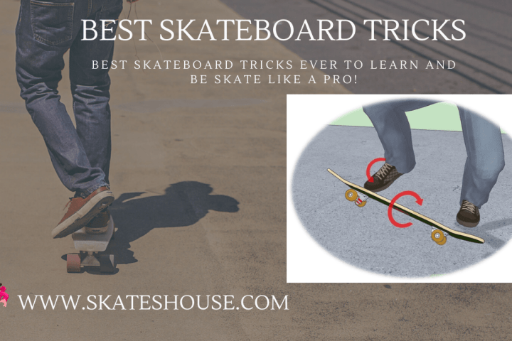 Old school kickflip is another part of best skateboard tricks.