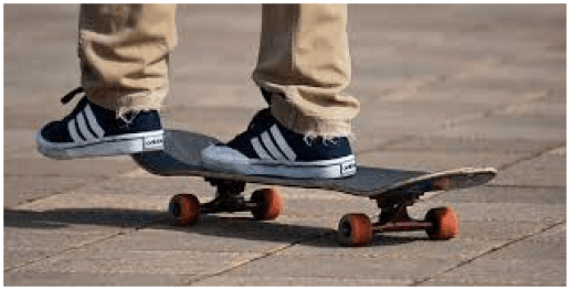 Foot brake skateboard is an important skill to stop your skateboard on the unexpected situation.