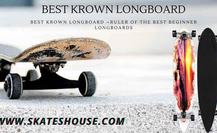 Krown Freestyle Elite Drop Through Complete Longboard