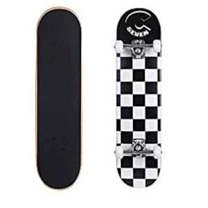 Cal7 patterned Complete 7.5 inch popsical double kick tail skateboard