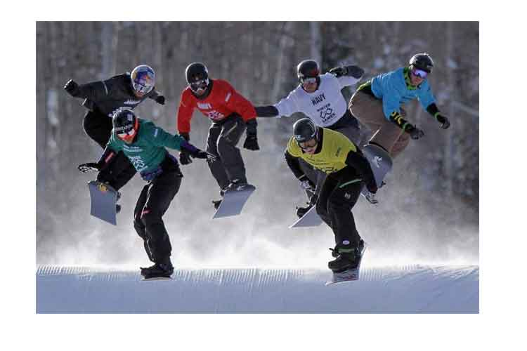 what is snowboard cross
