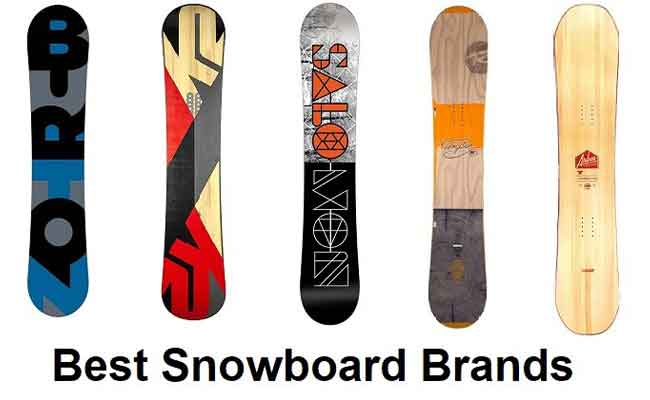 best snowboard brands