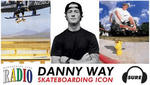 Danny Way Is one of the best top 10 skateboarders of all time.