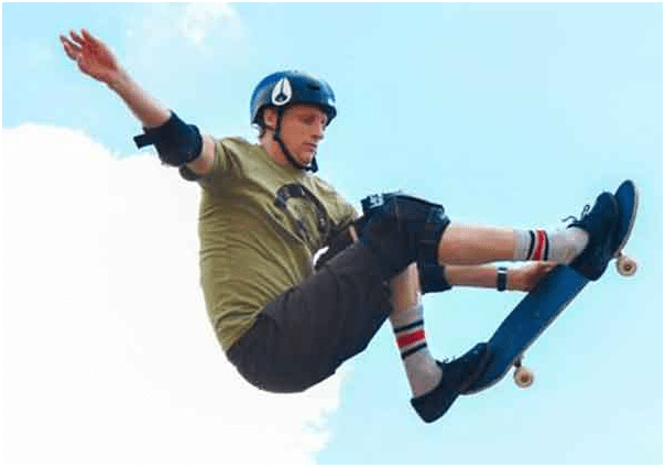 """Known as """"The Birdman"""", Tony Hawk is considered one of the best skateboard players of all time."""