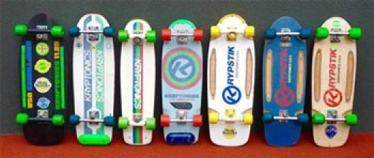 kryptonics skateboards are the best skateboard now a days because of it's designs.