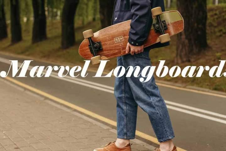 marvel longboards