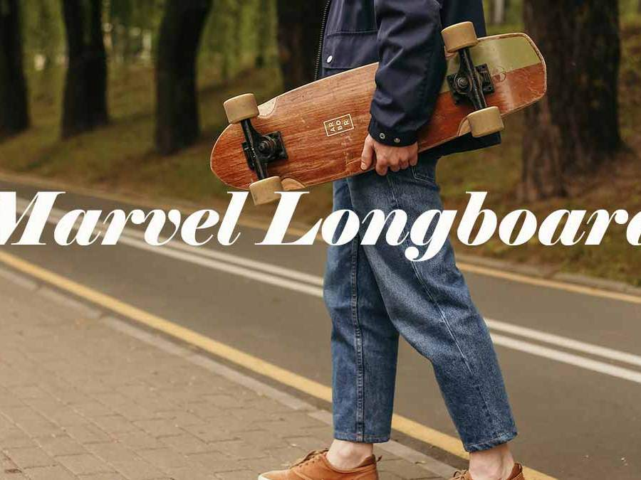 marvel longboards