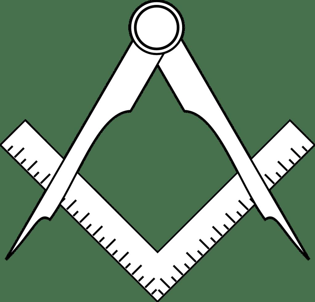 symbol freimaurer Winkel und Zirkel