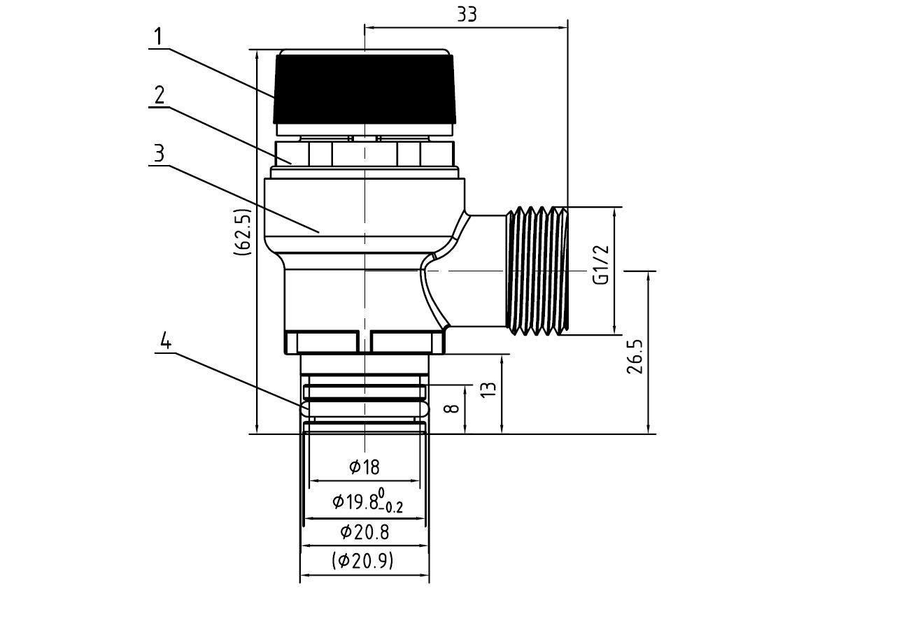 3 Way Pneumatic Control Air Port Mixing Valve Actuators