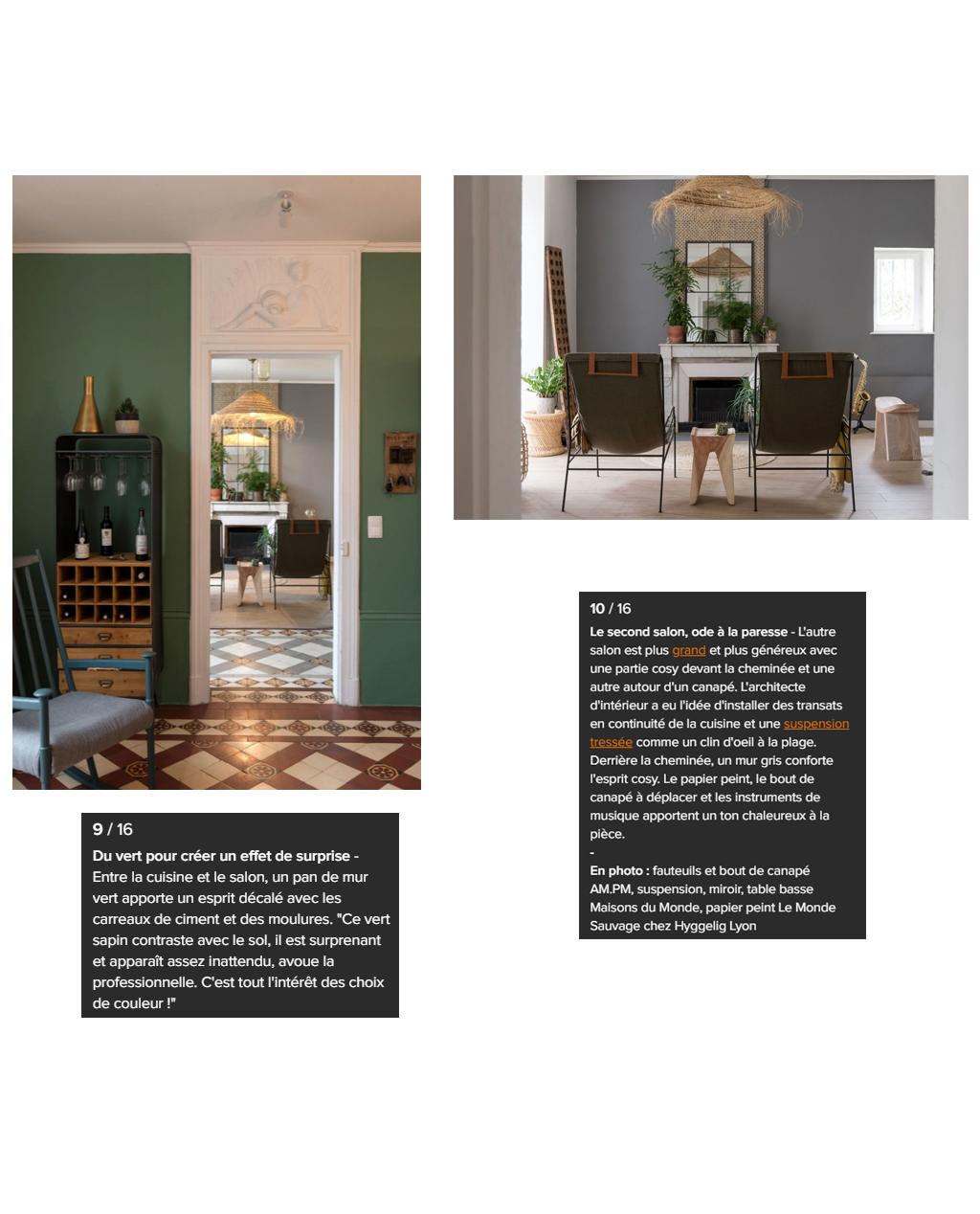 Vue de l'article : Esprit atelier pour une maison pleine de vie.