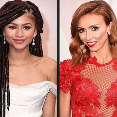 Left: Zendaya and Right: Guiliana Rancic at the 87th Academy Awards. Photo credit: Directioner2011/Flickr