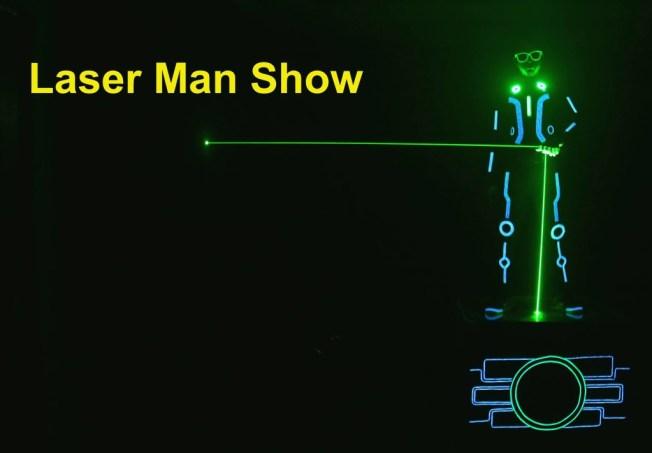 Laser Man Show India