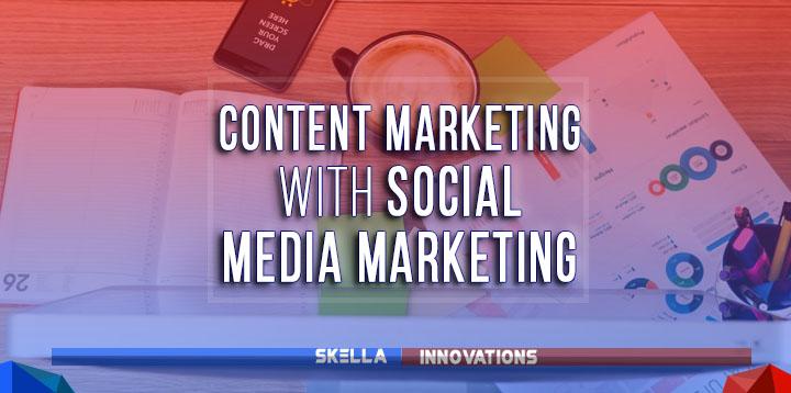 content marketing vs social media