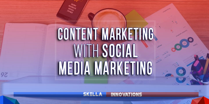 content marketing vs social media